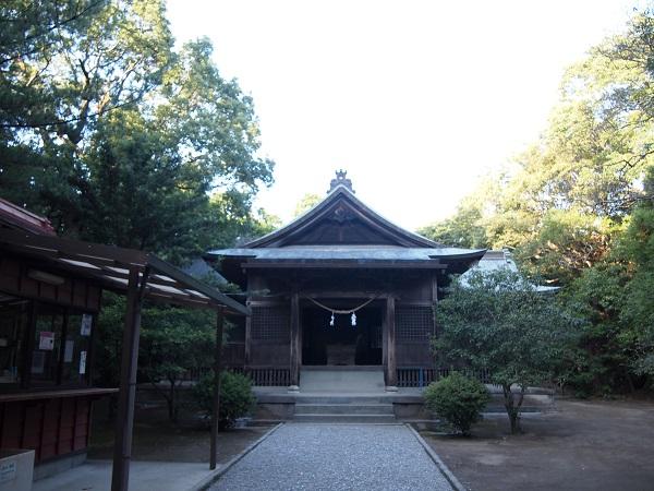 江田神社社殿