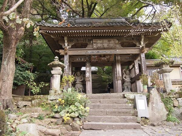 富貴寺山門