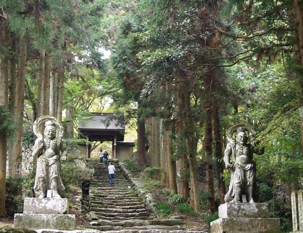 両子寺産道1