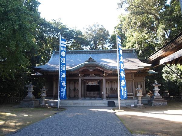 幾目神社社殿