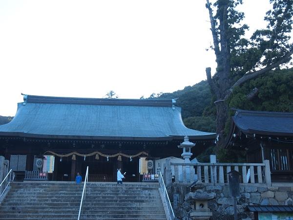 吉備津彦神社階段