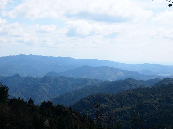 御元神社山々