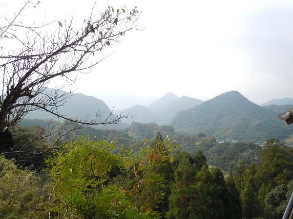 羅漢寺からの風景