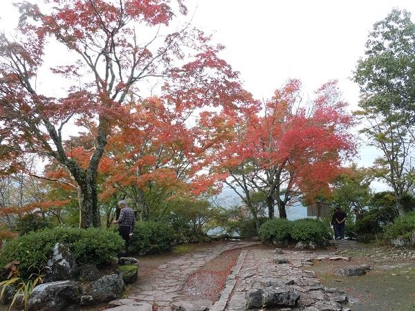 羅漢寺上部庭園