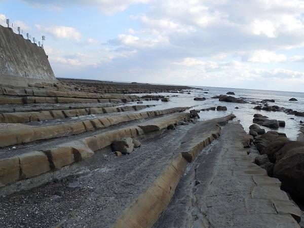 鵜戸神宮海岸千枚岩