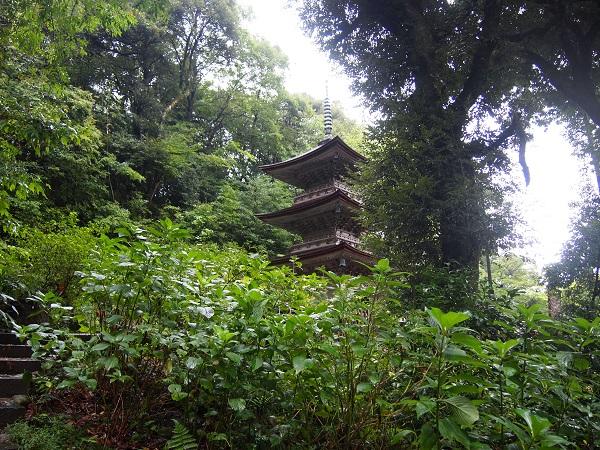 那谷寺三重塔