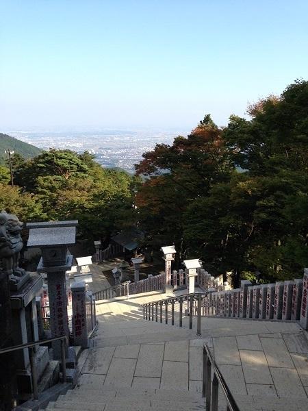 大山阿夫利神社参道