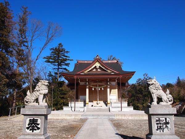 武州柿生琴平神社本殿2