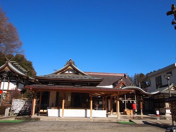 武州柿生琴平神社拝殿