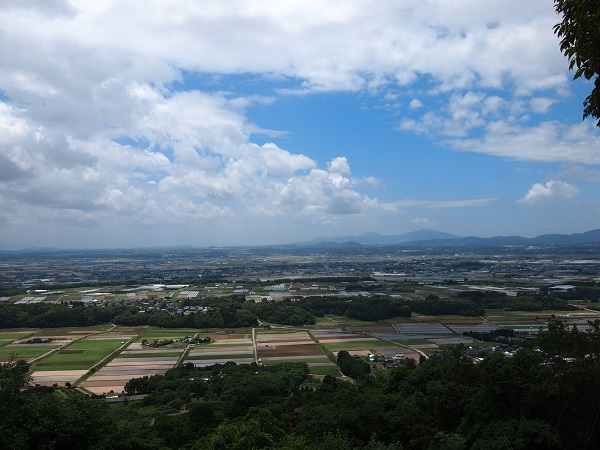 不動岩からの景色