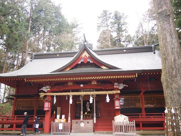 富士山東口本宮浅間神社拝殿5