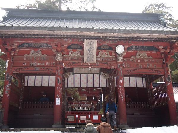 北口本宮浅間神社楼門