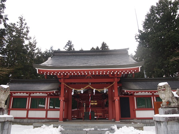 御室浅間神社拝殿
