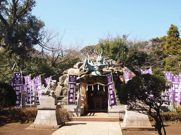 江の島神社竜宮