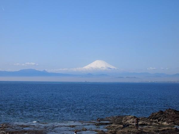 江の島神社富士山