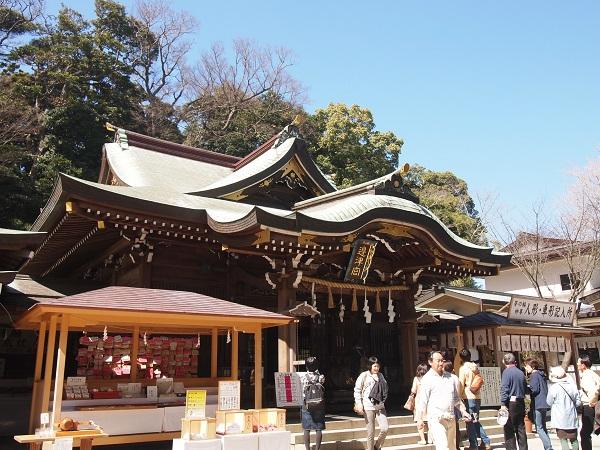 江の島神社辺津宮
