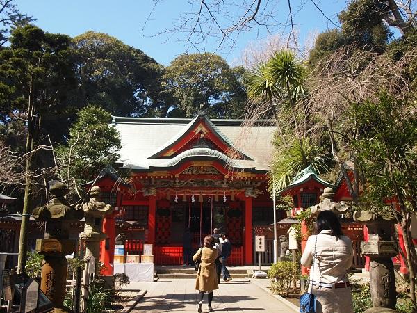 江の島神社中津宮