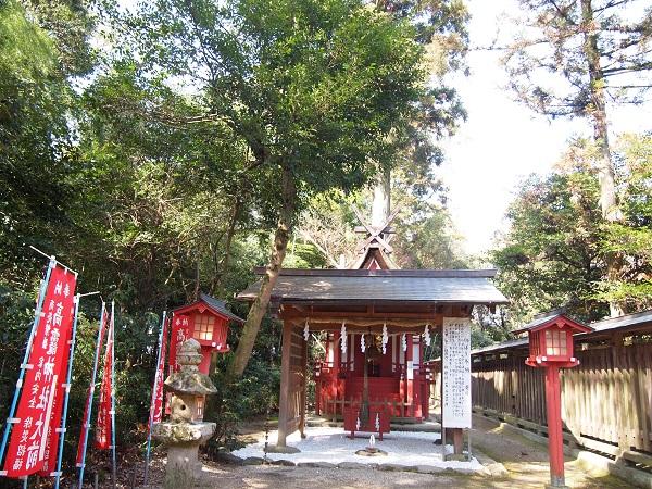 大和神社高霞神社