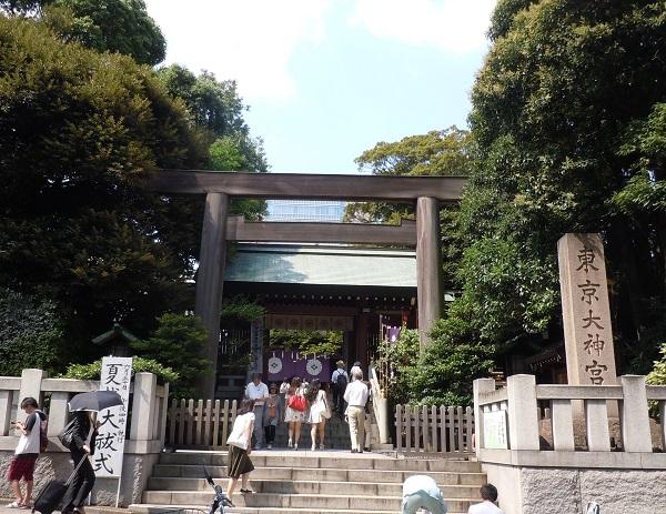 東京大神宮鳥居