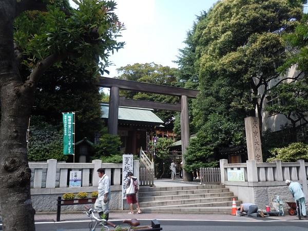 東京大神宮鳥居2