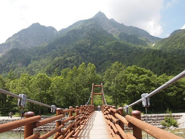 上高地-明神橋2