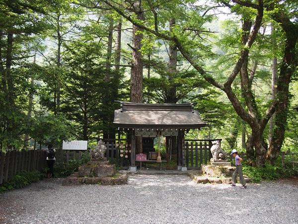 上高地ー穂高神社奥宮