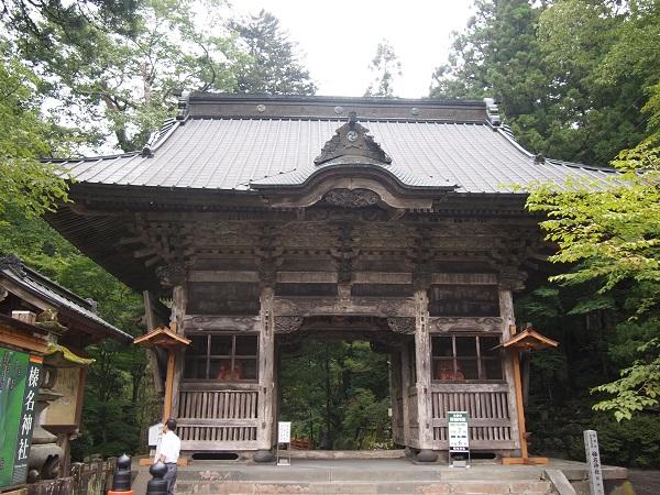 榛名神社 随神門3