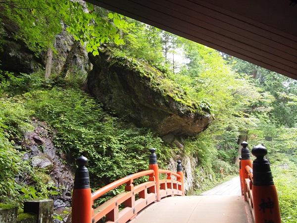 榛名神社 神橋