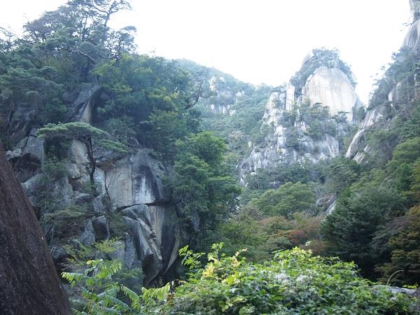 御岳昇仙峡ー覚円峰