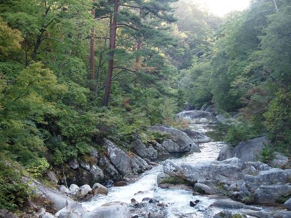 御岳昇仙峡峡渓谷7