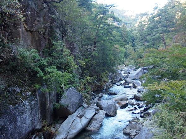 御岳昇仙峡峡渓谷2