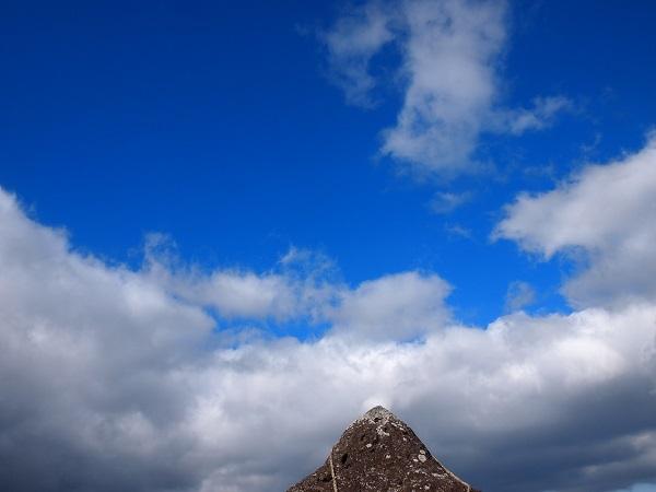 押戸ノ石 上空の青空1