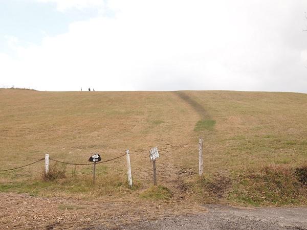 押戸ノ石 登り道