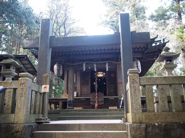 大雄山最乗寺 奥の院