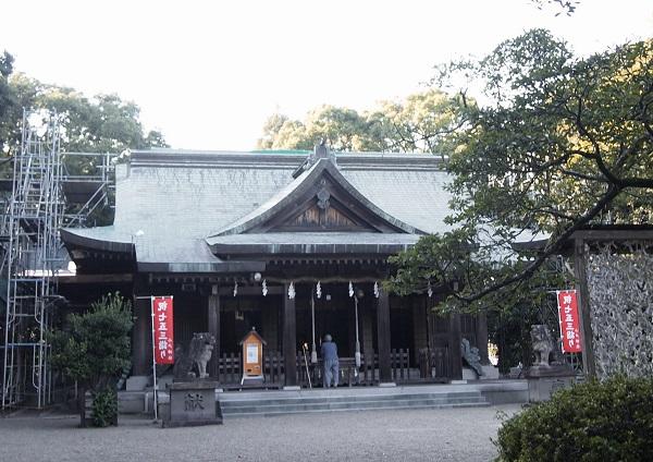 小戸神社拝殿3