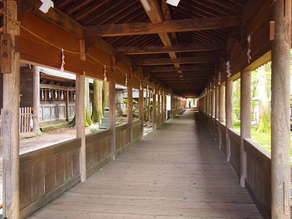 諏訪大社 回廊