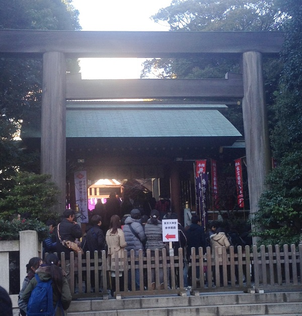東京大神宮初詣2
