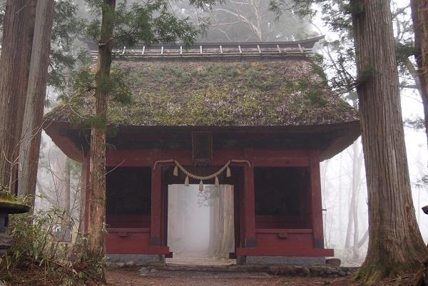 戸隠神社 奥社随神門3