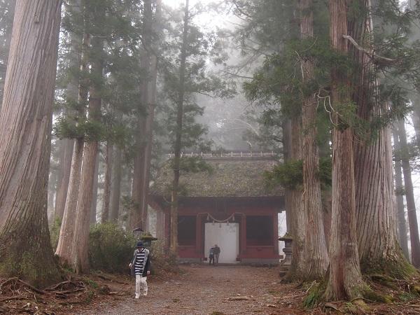 戸隠神社 奥社随神門2