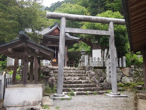 大嶽神社鳥居