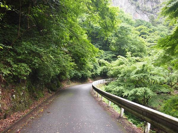 神戸岩への道