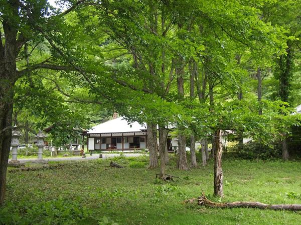 日光山温泉寺風景