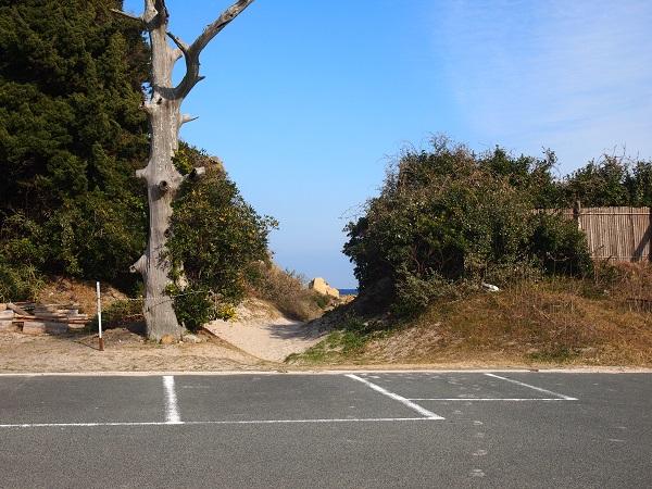 白浜神社駐車場