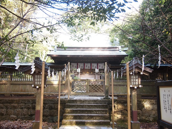 白浜神社本殿